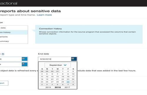 Visualiza reportes de los datos mas sensibles